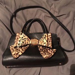 Betsey Johnson cheetah purse!
